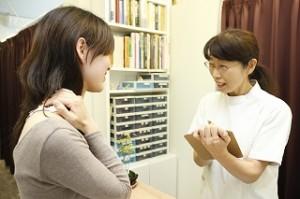 新橋の指圧鍼灸マッサージ元気計画には女性スタッフが常駐